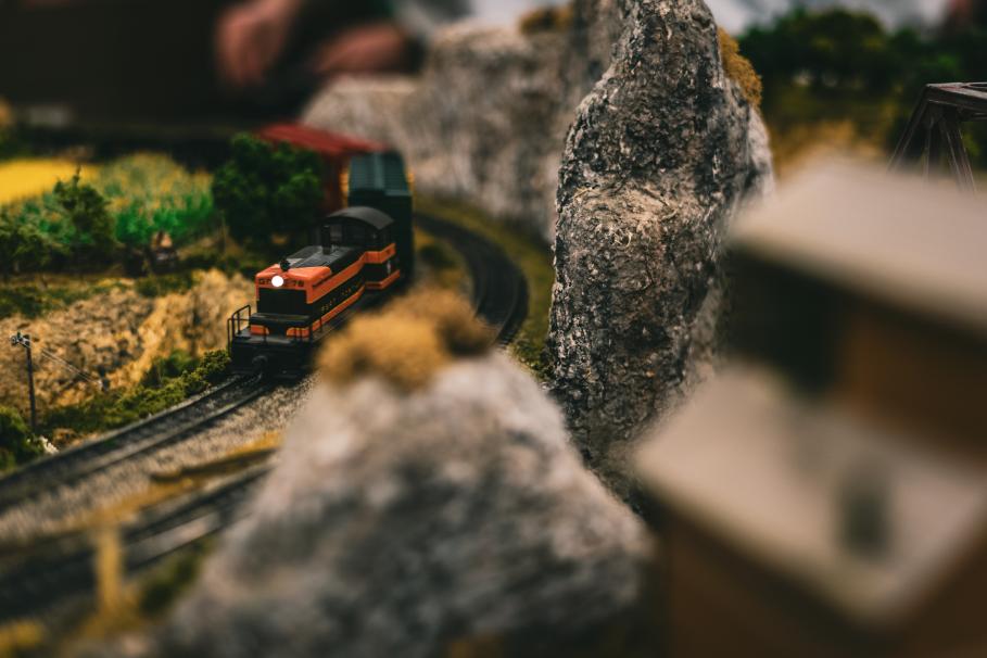 Making a Model Railroad at Home