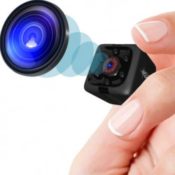 Mini Spy Camera 1080P Hidden Camera - Portable Small HD Nanny Cam with Night Vision and Motion Detection
